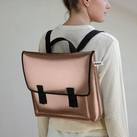 Satchel bag Copper