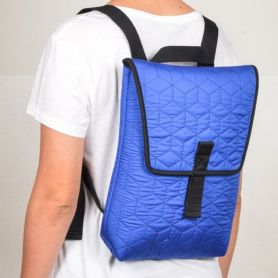 Zaino Backpack Mini Quilted blue