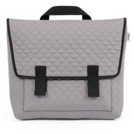 Satchel bag Quilted grey