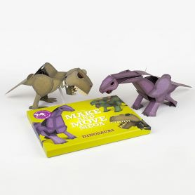 Make and Move Mega Dinosaurs