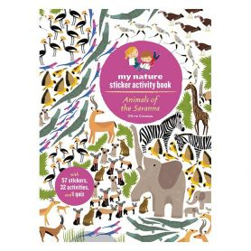 Animals Of The Savanna Sticker Book