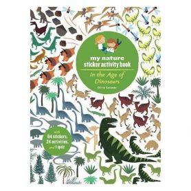 In The Age Of Dinosaurs Sticker Book