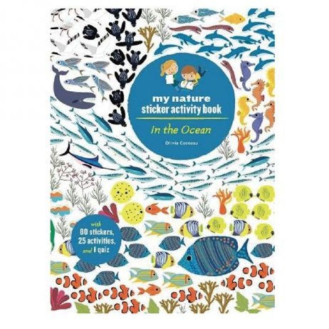 In The Ocean Sticker Book