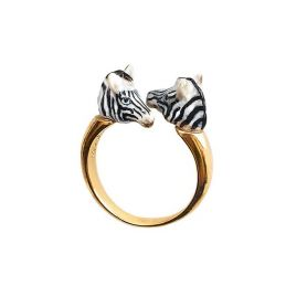 Anello face to face zebra