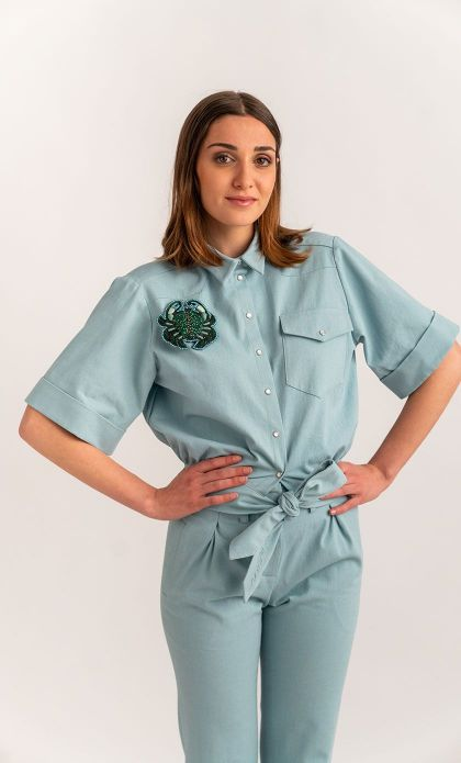 Camicia Pin-up denim