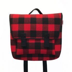 Zaino Satchel Buffalo Red