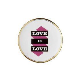 Piatto 17 cm Love is Love
