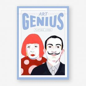 Genius Art Card