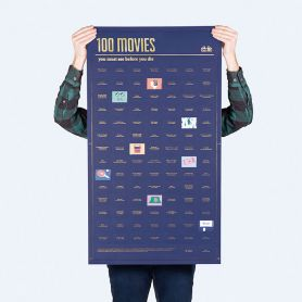 Poster 100 movies