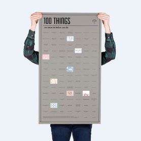 Poster 100 things