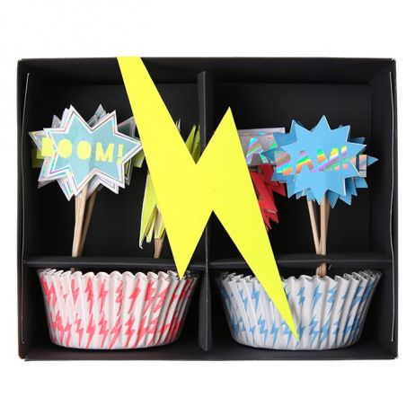 Kit per cupcakes superhero