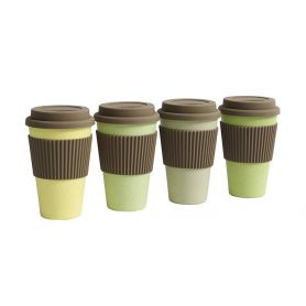 Mug To Go verde - giallo