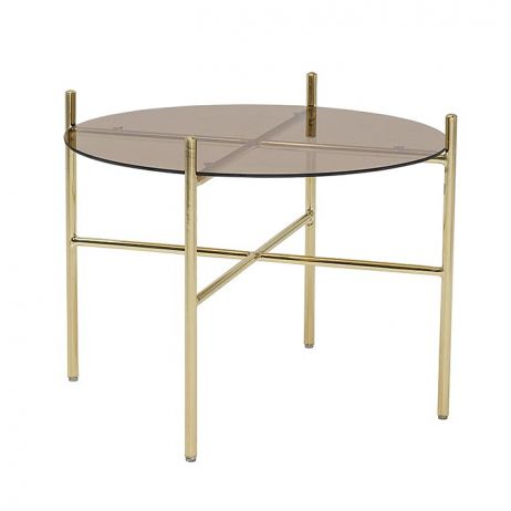 Coffee table in vetro
