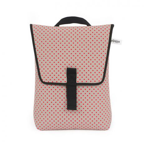 Zaino Backpack Mini Dotty Red