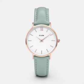 Orologio Minuit rose gold white Mint