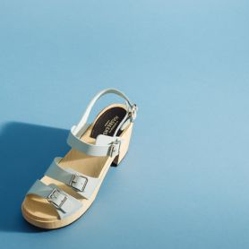 Zoccoli Buckle Sandal