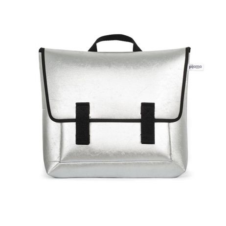 Satchel bag Silver