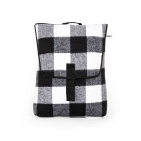 Zaino Backpack Mini Plaid black