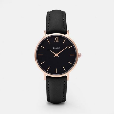 Orologio - Minuit rose gold black black
