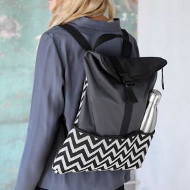 Medium Backpack zigzag